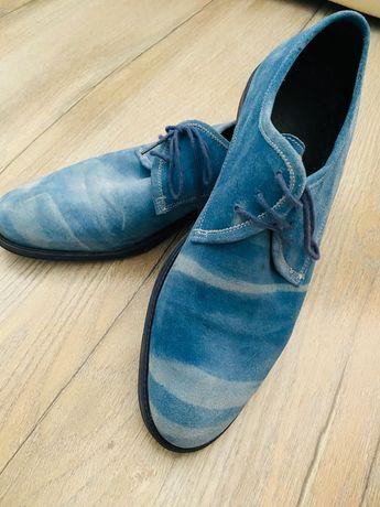 Pantofi bărbătești piele întoarsă 39