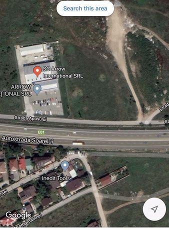 Vanzare teren intravilan Cățelu/Glina, Autostrada Soarelui