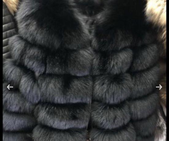 Палто от есествен косъм
