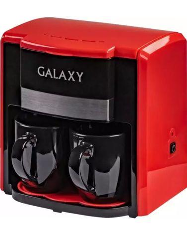 Кофеварка Galaxy GL0708 красный