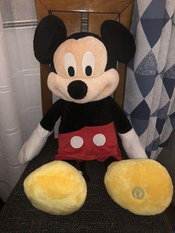 Lot Mickey 70 cm +ursulet alb