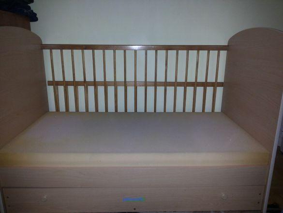 детско креватче без дунапрена