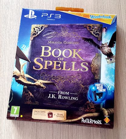 НОВА PS3 Wonderbook: BOOK OF SPELLS Книга + диск PlayStation 3