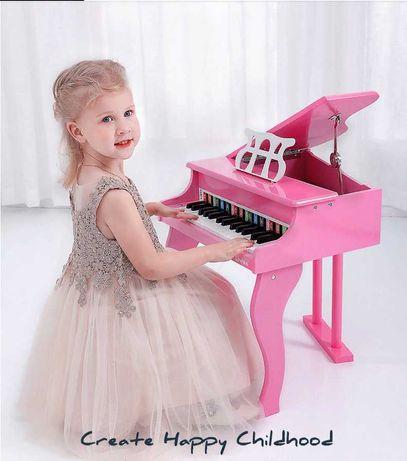 Детское пианино, рояль 30 клавиш. Подарок ребенку на день рождения.
