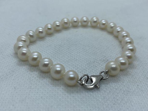 Bratara perle naturale