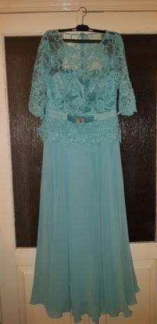 Продается платье бирюзовое
