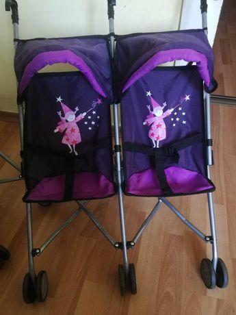 Детски колички за кукли близнаци