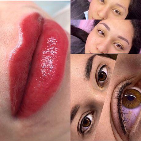 Перманентный макияж Акция АКЦИЯ от 5000 тенге