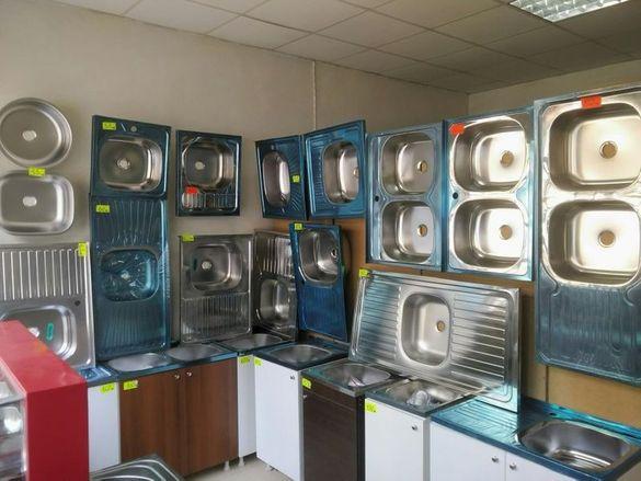 Нови Кухненски мивки шкаф за кухня по поръчка  Хром Силистра бордова