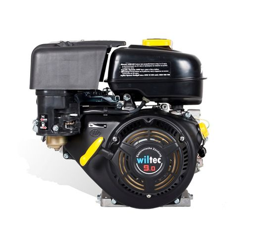 Двигател за мотоблок WILTEC 9,0 HP на конус.