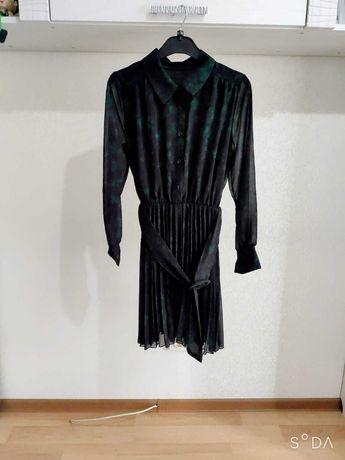 Итальянское платье плиссе
