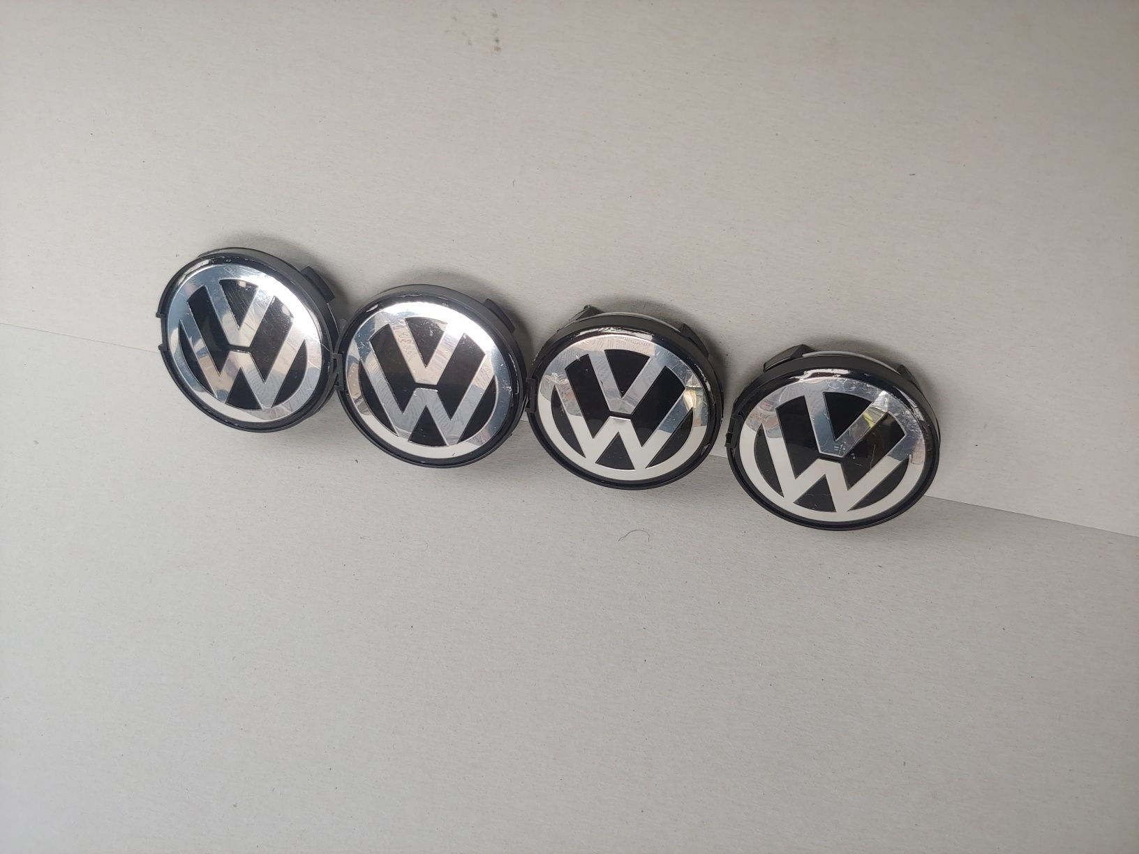 63мм Капачки за джанти Фолксваген VW Шаран Пасат 5 OEM 7D0 601 165
