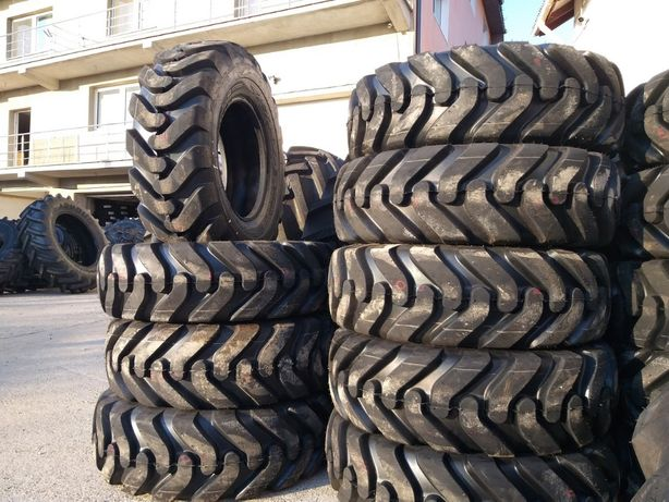Cauciucuri noi 12.5/80-18 cu 14PR TATKO asfalt, beton, piatra, groase