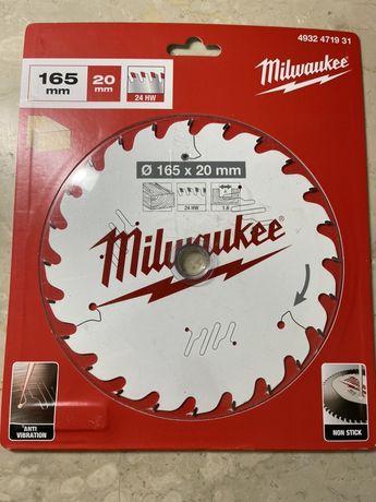 MILWAUKEE 931 disc, panza circular 165mm/ 24 , NOU