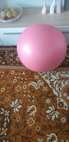 Фитбол розового цвета