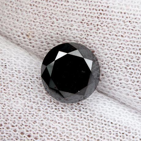 Diamant natural negru 2.8 ct