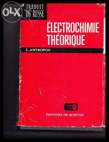 Electrochimie teoretica in lb franceza
