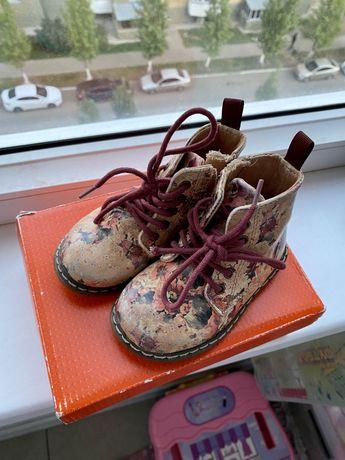 Осенние Ботинки Zara baby для девочки