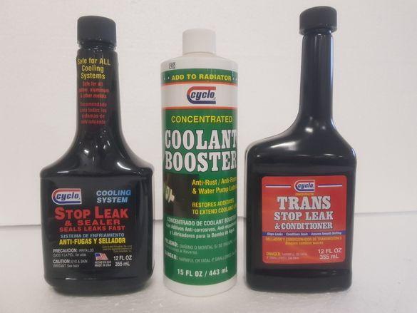 Добавки за спиране на течове препарати