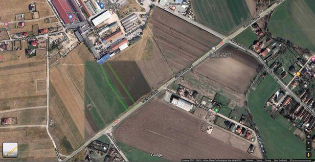 Teren de vanzare Sacele - centura - DN1A - langa Hidraulica, Bobes