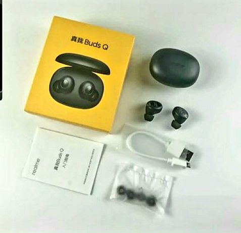Realme Buds Q Wireless Earphones Bluetooth TWS 400mA Battery Charger B