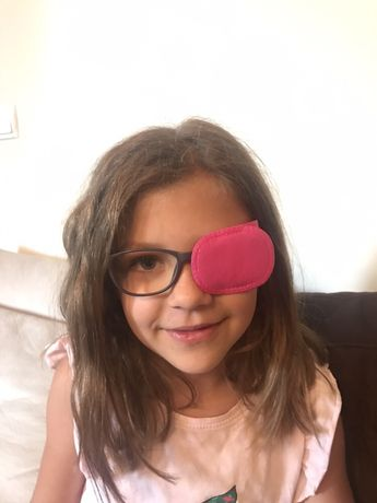 Обтуратор за очила ,лепенка за мързеливо око