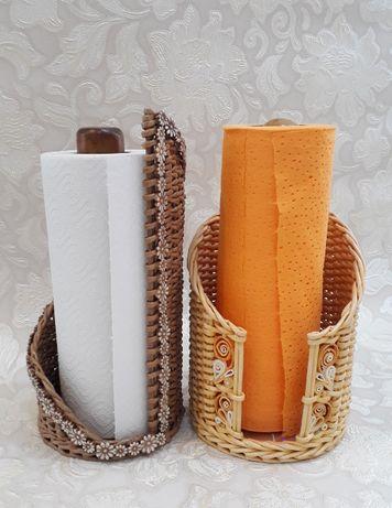Плетеные подносы, корзинки, сувениры ручной работы