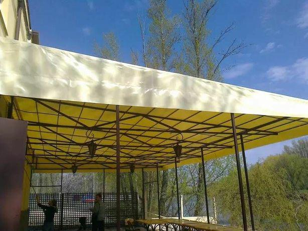 Изготовление и Ремонт шатров, навесов, зонтов