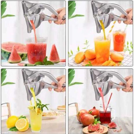 Пресс соковыжималка всего за 1 минуту сделает свежевыжатый сок