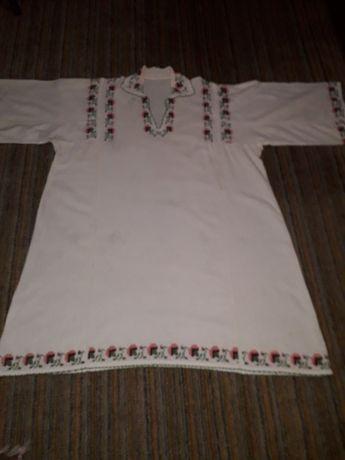 Vand ie/camasa traditionala romaneasca din panza topita-costum popular