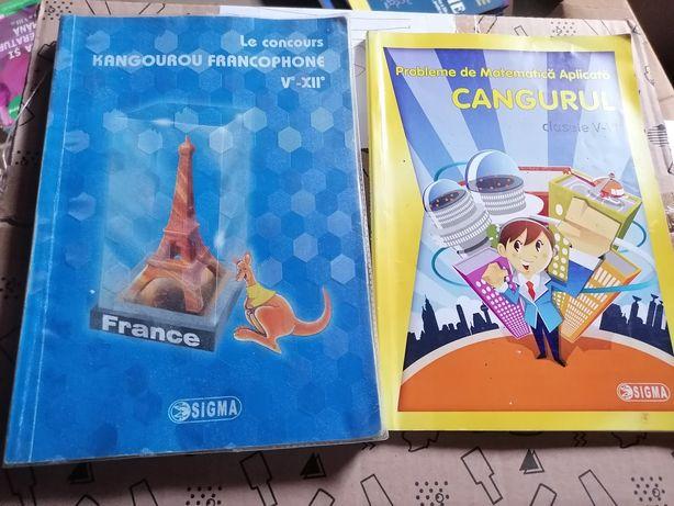 Cărți concurs Cangurul diverse materii