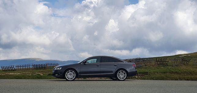 Audi a6 3.0 tdi Quatro 245 cp/ Schimb cu touareg ,Q7 sau Q5 3.0 tdi,e5