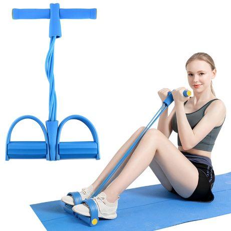 Trainer coardă abdominală - Albastru