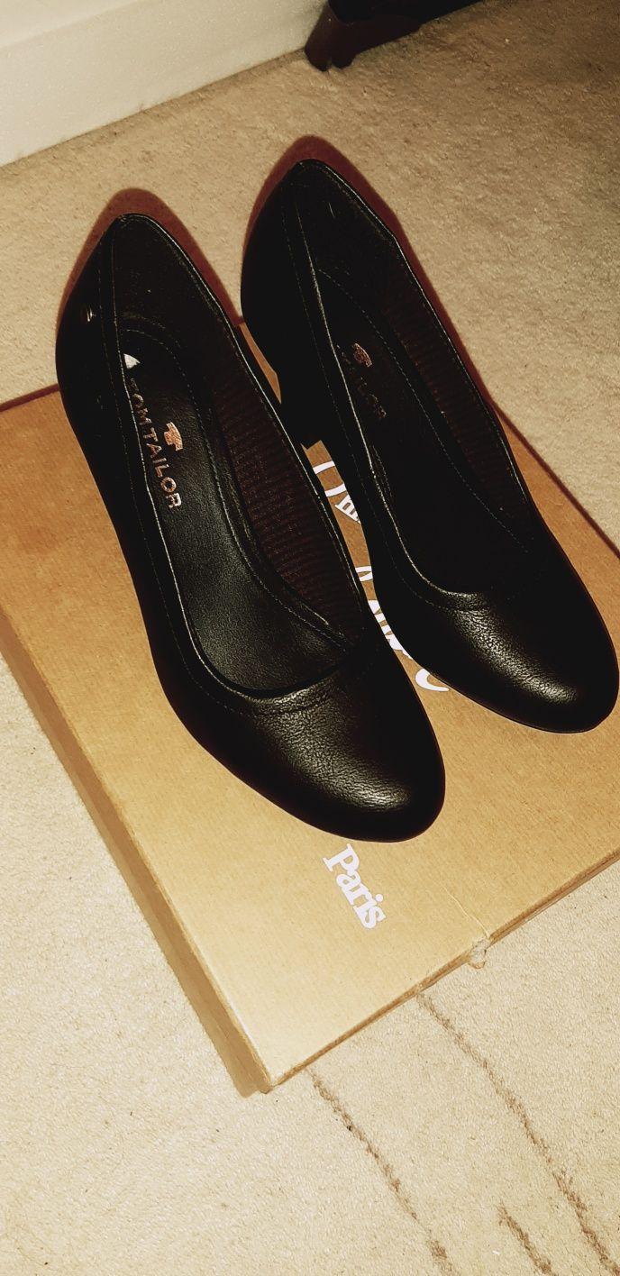 Pantofi Tom Tailor piele naturala nr 38-39