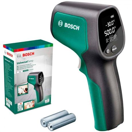 Пирометр, Измеритель температуры, Термодетектор Bosch UniversalTemp