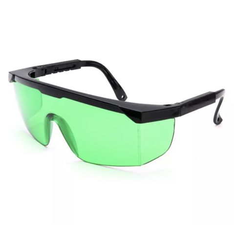 Очила за лазерен нивелир. Зелени очила.