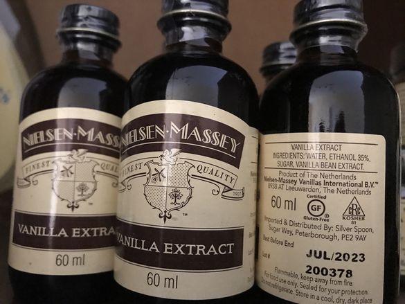 Ванилов екстракт, внос от Англия