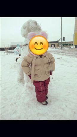 Продам зимнюю куртку и комбез