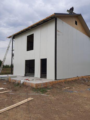 Vând container modular  casă pe structura metalica