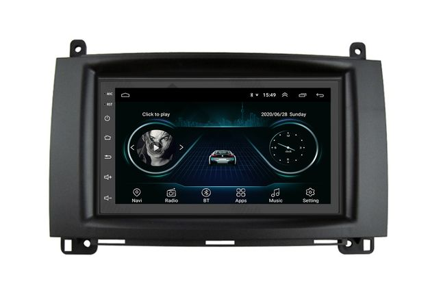 Navigatie GPS Android Mercedes Sprinter Vito Volkswagen VW Crafter