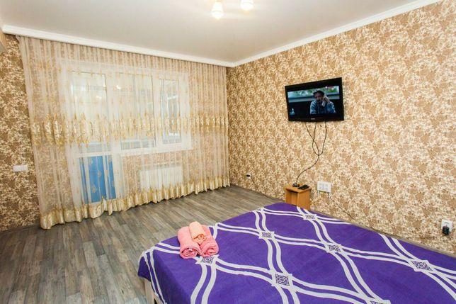 """1.комн квартира Алтыбакан 1. Фото 100% для солидных гостей""""! Чистота и"""