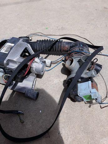 motor pompa de apa si curea masina de spalat indesit