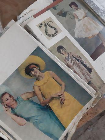 Журналы мод за 80 годы