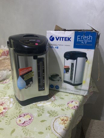 Термопот электрический чайник термос Vitek