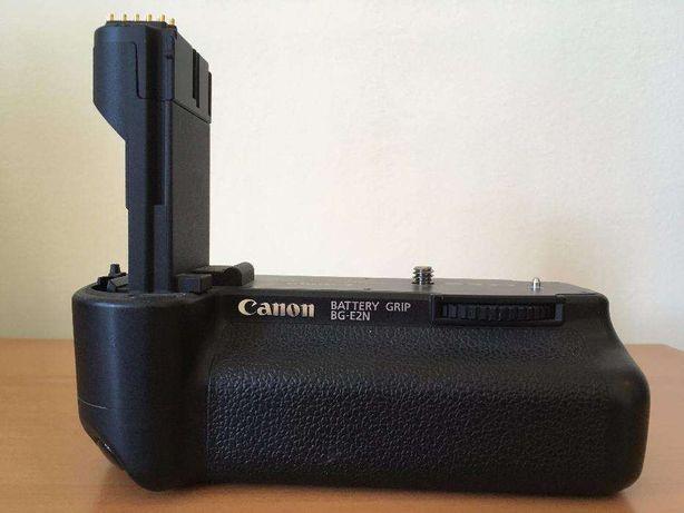 Grip original Canon BG-E2N + adaptor R6, impecabil