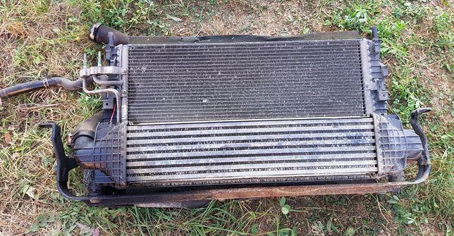Radiator  , electroventilator Ford Focus 1.8 TDCI 2007