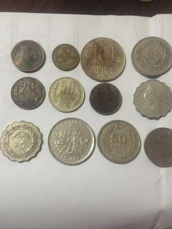 Български, арабски и френски стари монети