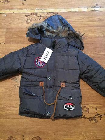 Продам куртку на мальчика 3-4года ЗИМА