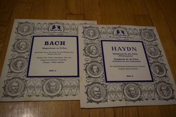 плочи класическа музика Бах, Бетовен, Моцарт