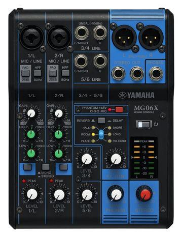 Микшер Yamaha в упаковке